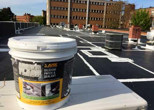Liquid Silicone Roof Membranes: Portanova Roofing Inc